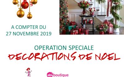Opération «décorations de Noël»